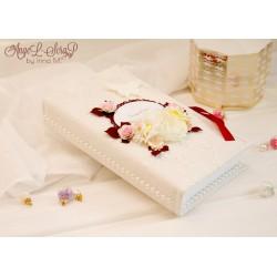 Большая свадебная коробочка для денежного подарка