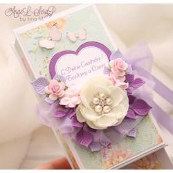 Коробочка для денежного подарка на свадьбу